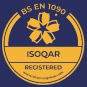 Alcumus ISOQAR - accreditation logo